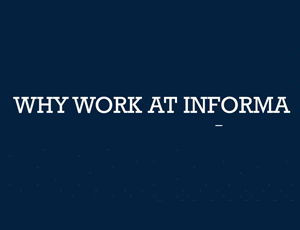 click to learn about why you should work at Informa