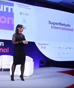 Click through to watch video giving information about SuperReturn International
