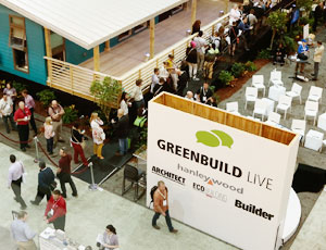 an image from the Green Build Live Exhibition