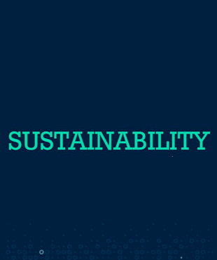 click to watch a video about Informa's sustainability efforts