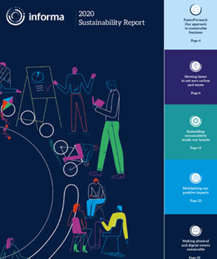 2020 Sustainability Report Front Cover